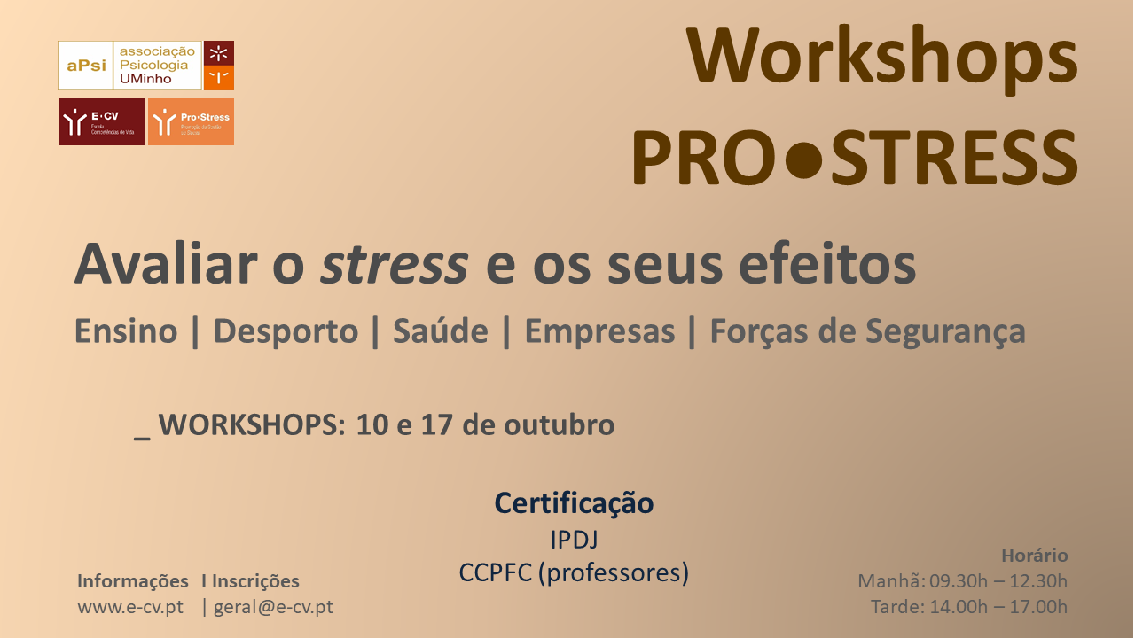 Workshops Pro●Stress