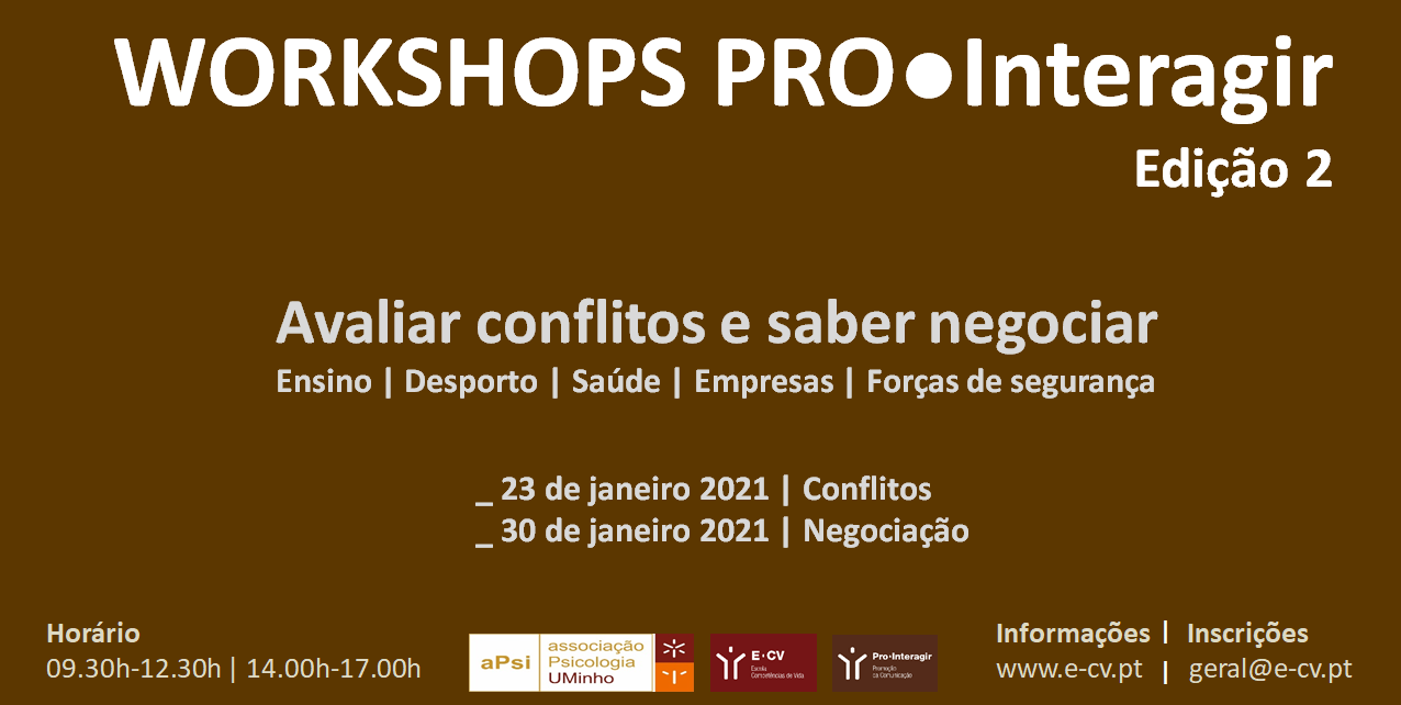 Ciclo de Workshops Pro●interagir