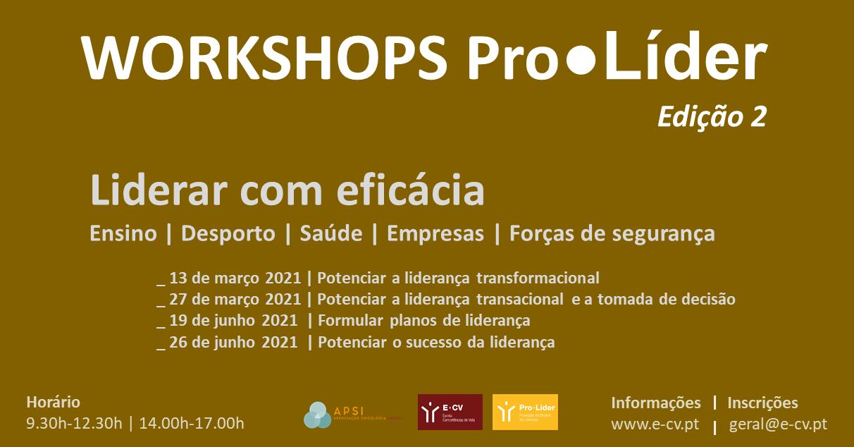 Ciclo de Workshops Pro●Líder
